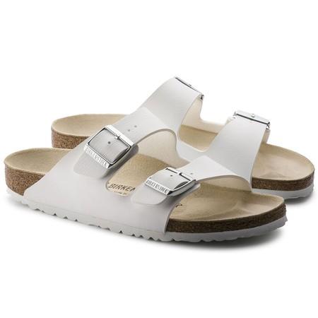 Birkenstock Arizona White Birko-Flor® Sandal - White