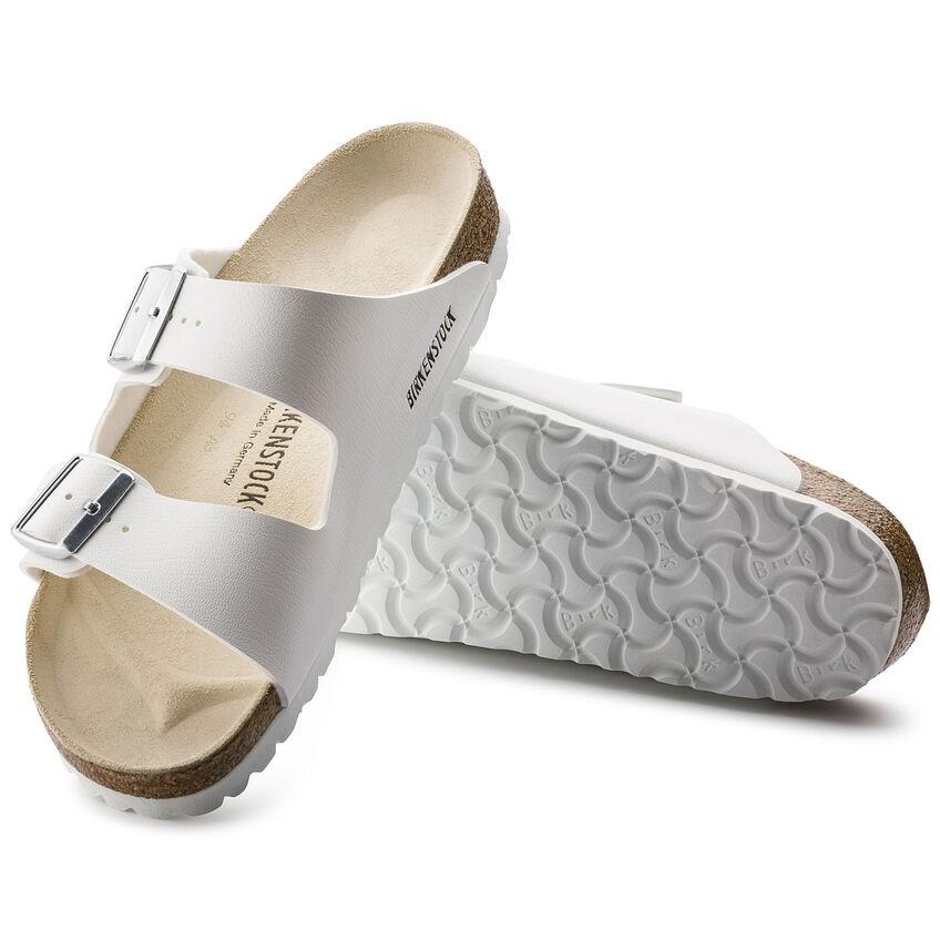 Birkenstock Arizona White Birko-Flor® Sandal White