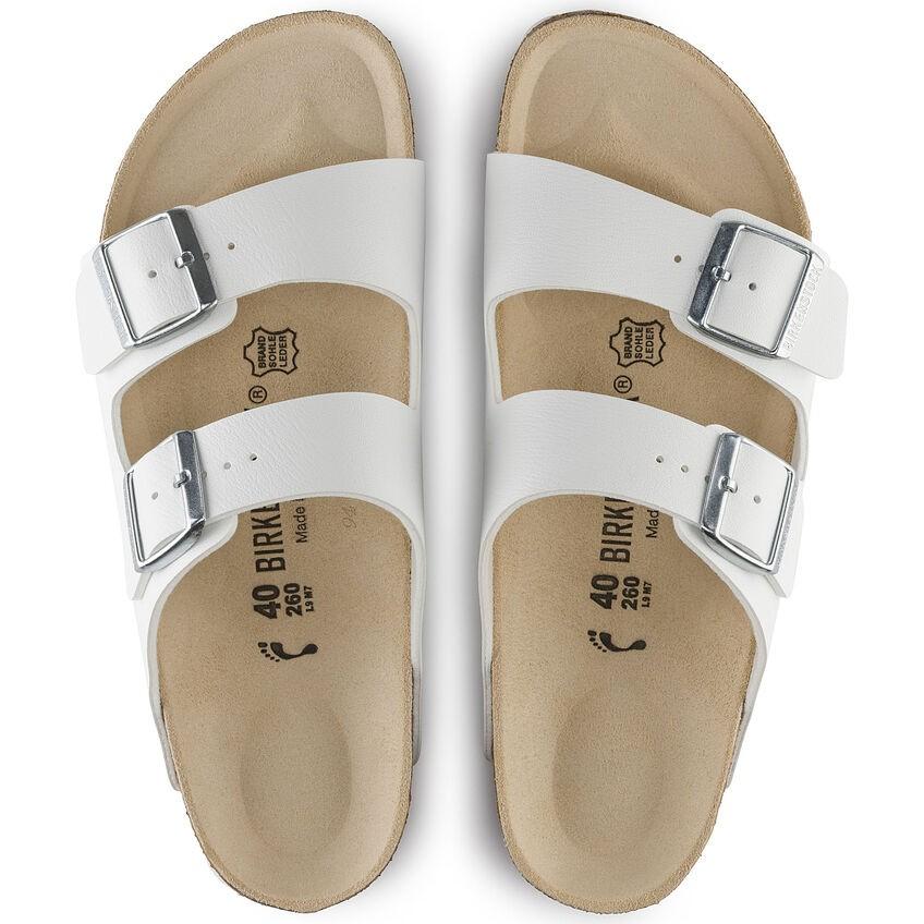Arizona White Birko-Flor® Sandal main image