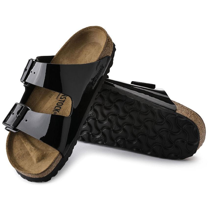Birkenstock Arizona Black Patent Birko-Flor® Sandal Black Patent