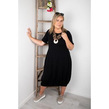 Mama B Dogliani U Jersey Dress - Black