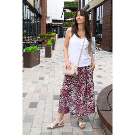 Chalk Lauren Organic Jersey Fitted Vest Top - White