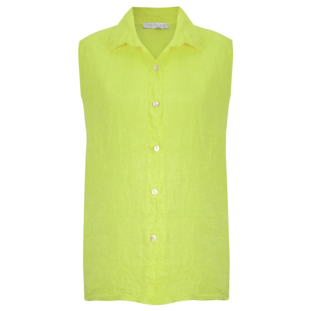 Amazing Woman Steffi Shirt Lime