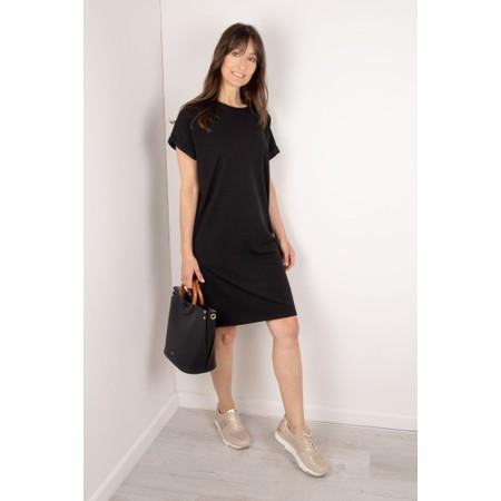Chalk Alice Organic Jersey Dress - Black