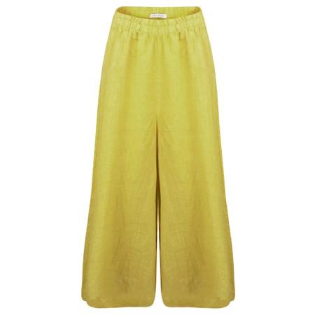 Amazing Woman Kira Culotte - Yellow
