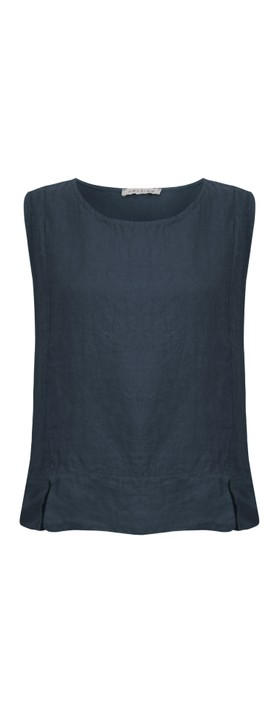 Amazing Woman Lucie Top Navy Blue