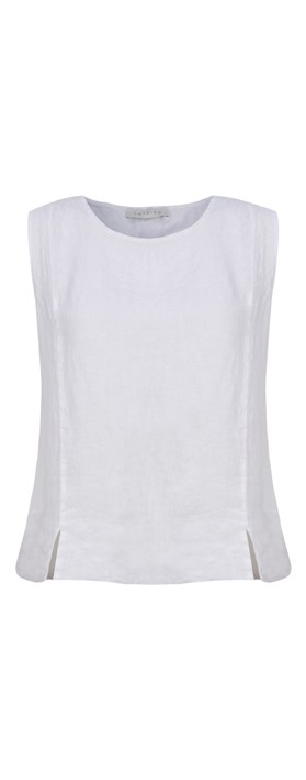 Amazing Woman Lucie Top White