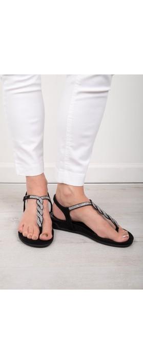 Marco Tozzi Moli Sandal Black