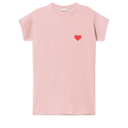 Chalk Louise Heart Top - Pink