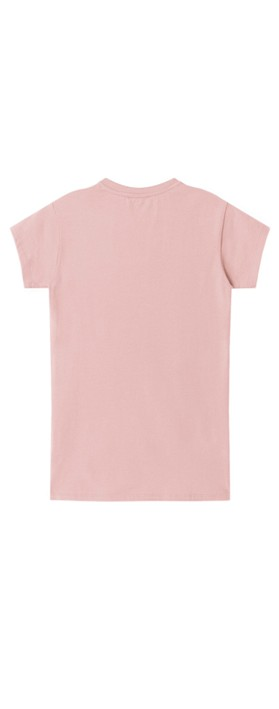 Chalk Louise Heart Top Pink / Red