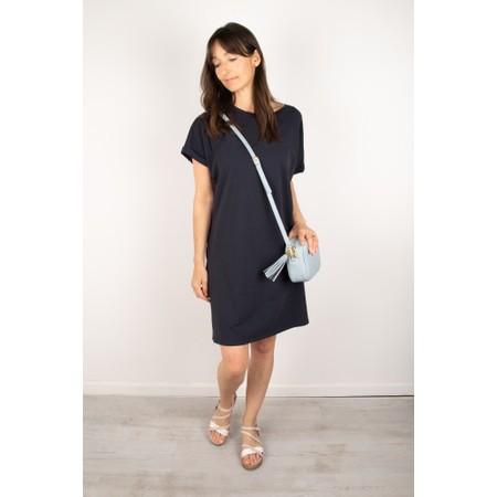 Chalk Alice Organic Jersey Dress - Blue