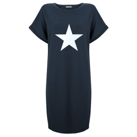 Chalk Alice Star Dress - Blue