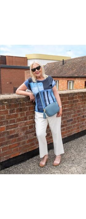 Gemini Label Bags Connie Cross Body Bag Denim Blue