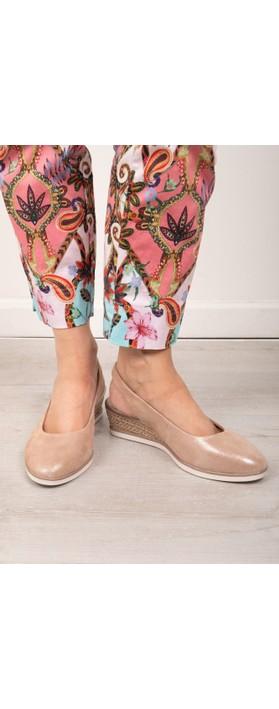 Tamaris Sanja Wedge Shoe Rose Pearl