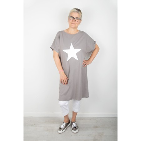 Chalk Alice Star Dress - Grey