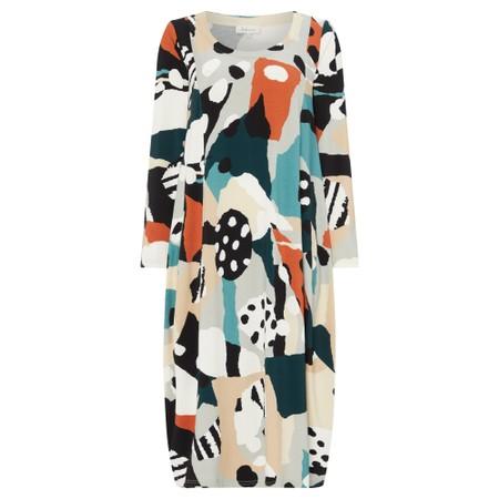 Sahara Abstract Print Bubble Dress - Multicoloured
