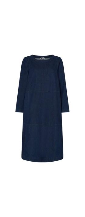 Sahara Stretch Denim Flared Dress Denim