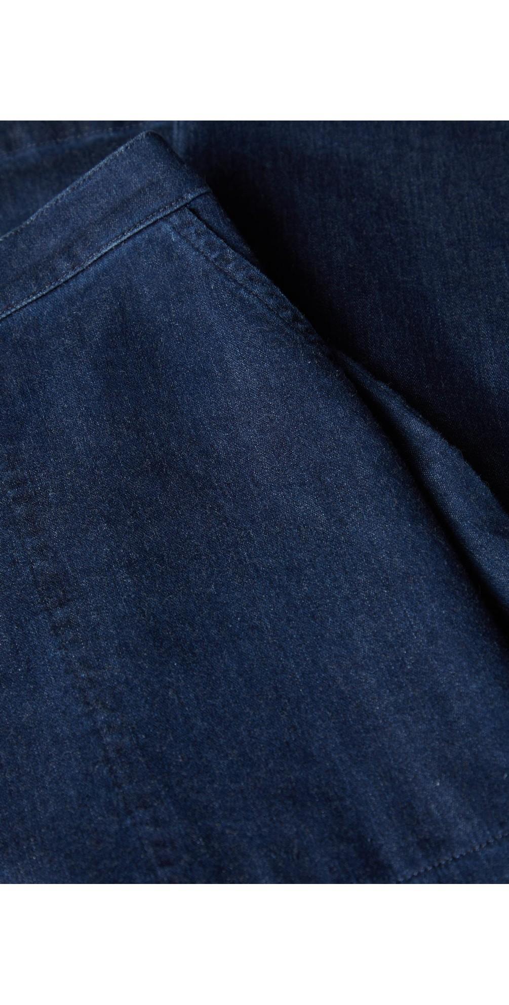 Stretch Denim Straight Trouser main image