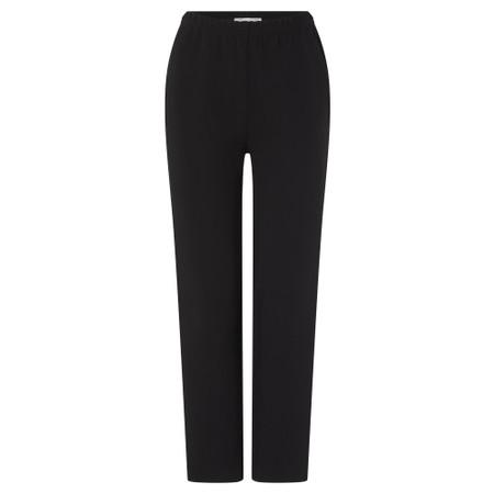 Sahara Ponte Slim Leg Trouser - Black