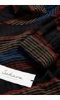 Sahara Multi Crinkle Stripe Top