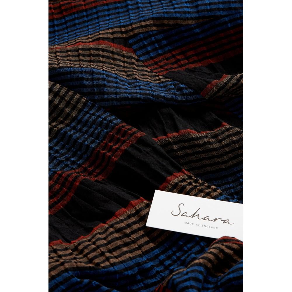 Sahara Crinkle Stripe Bubble Dress Multi