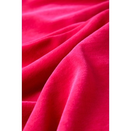 Sahara Velvet Jersey Bubble Dress - Pink