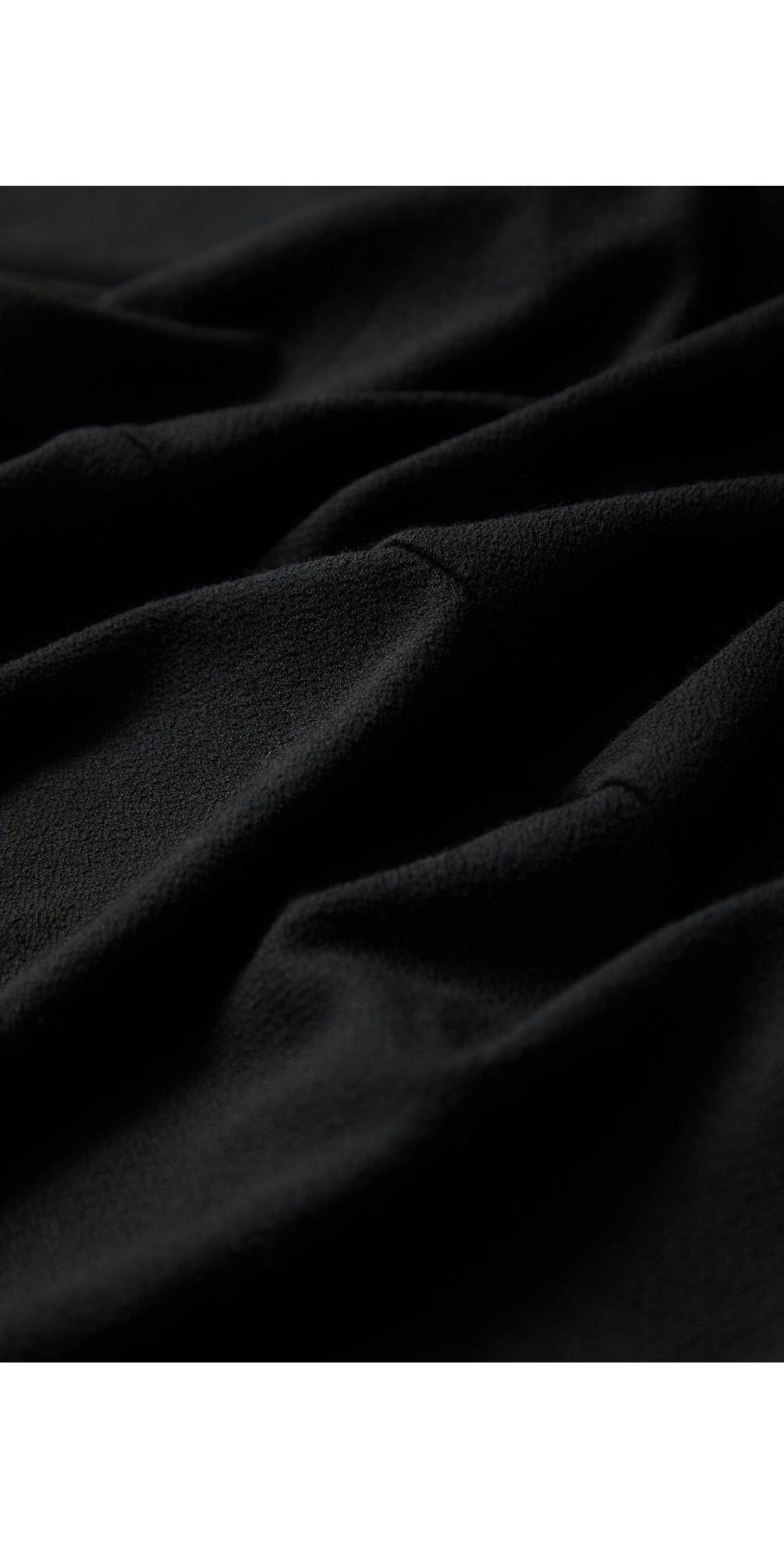 Velvet Jersey Bubble Dress main image