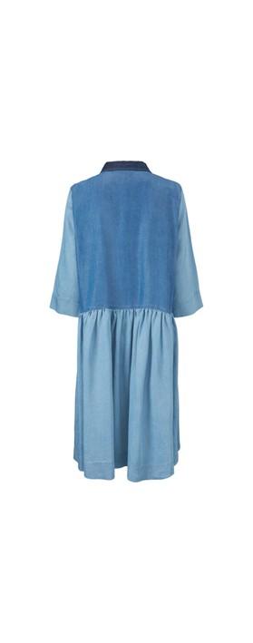 Masai Clothing Nitas Dress Blue Denim