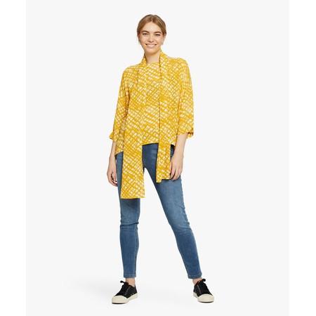 Masai Clothing Along Scarf - Yellow