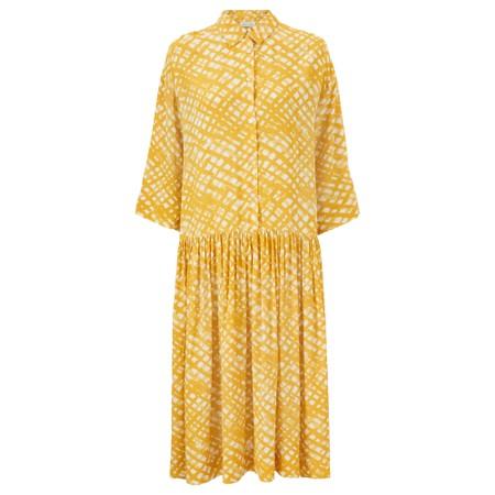 Masai Clothing Nanetti Dress - Yellow
