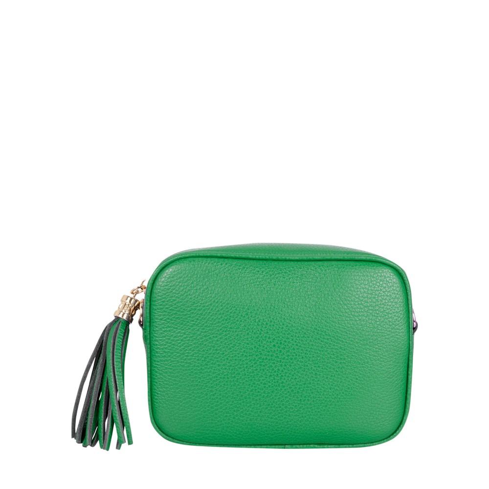 Gemini Label Bags Connie Cross Body Bag Emerald