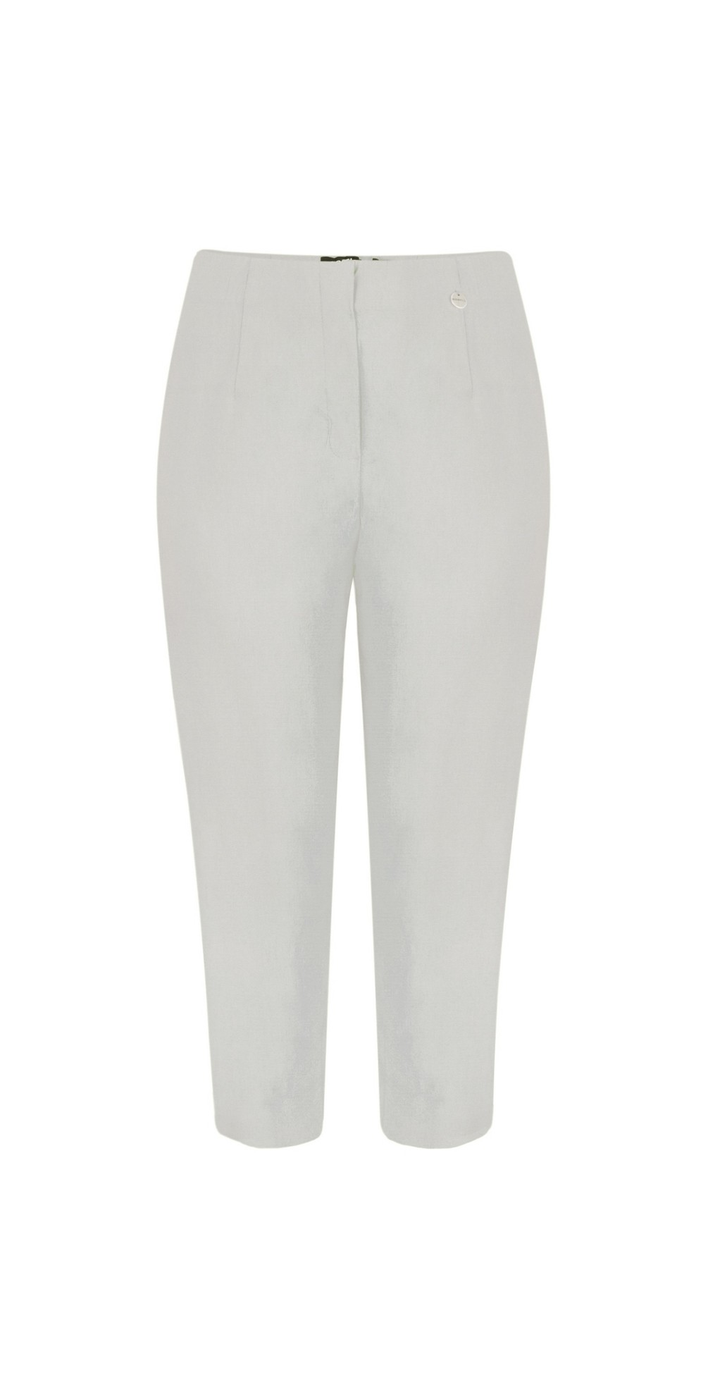 Marie 07 Stone Grey Cropped Trouser main image