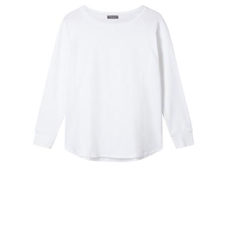 Chalk Sarah Organic Cotton Top - White