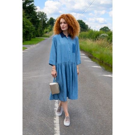 Masai Clothing Nitas Dress - Blue
