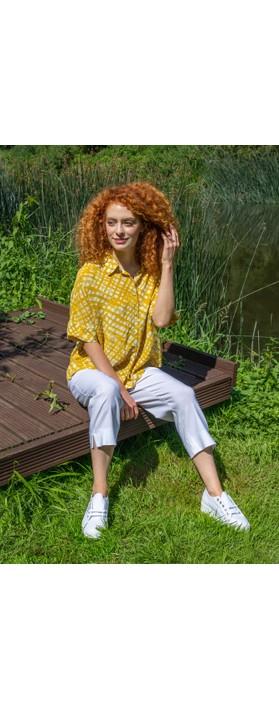Masai Clothing Iasna Top Sauterne