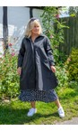 Masai Clothing Black  Tussa Coat