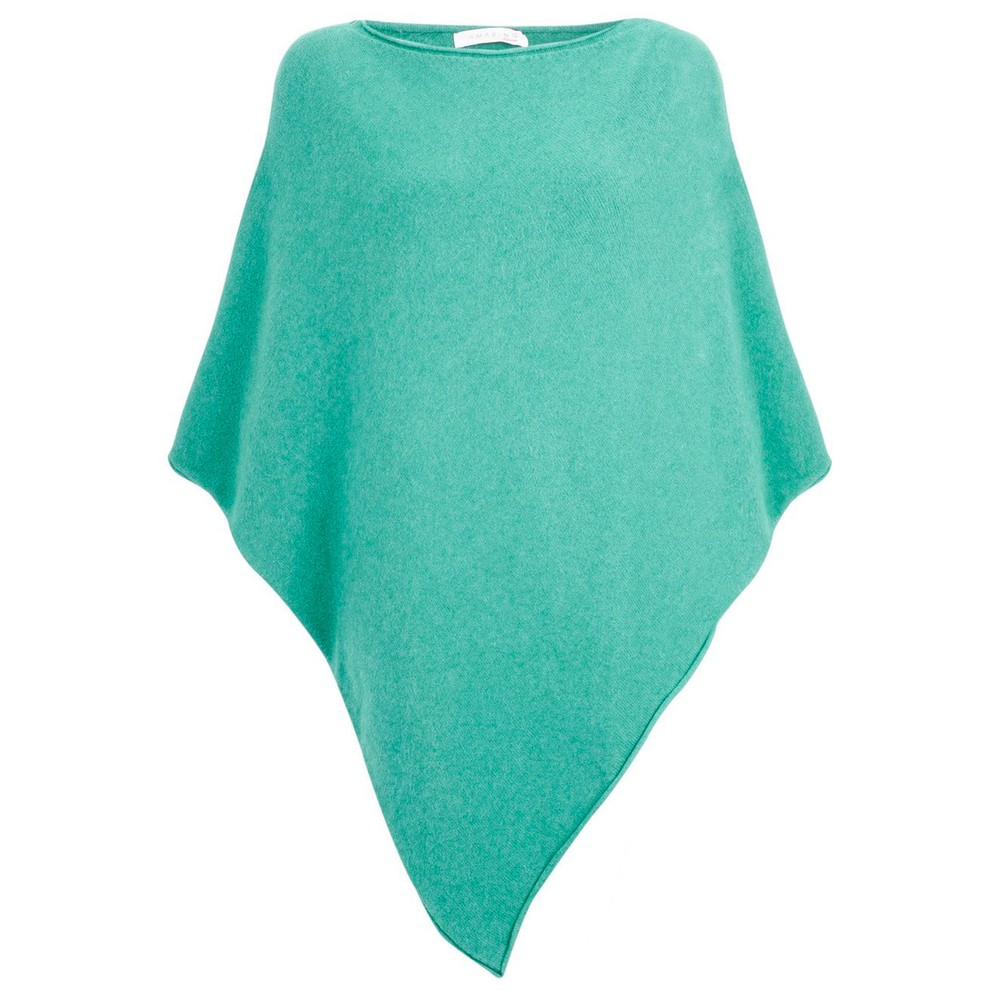 Amazing Woman Poncho in Supersoft Knit  Opal