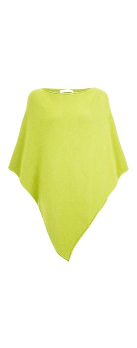 Amazing Woman Poncho in Supersoft Knit  Pear
