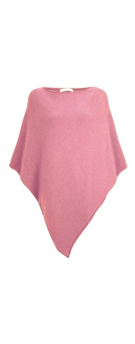 Amazing Woman Poncho in Supersoft Knit  Orchid