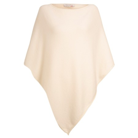 Amazing Woman Poncho in Supersoft Knit  - Off-White
