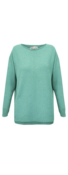 Amazing Woman Maggie Seam Front Supersoft Jumper Opal
