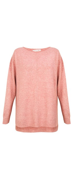 Amazing Woman Maggie Seam Front Supersoft Jumper Blusher
