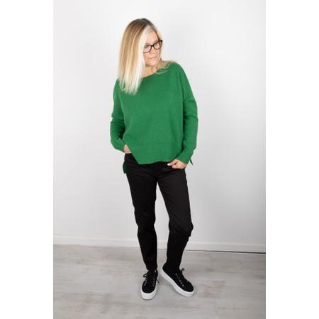 Amazing Woman Judy SuperSoft Highlow Jumper - Green