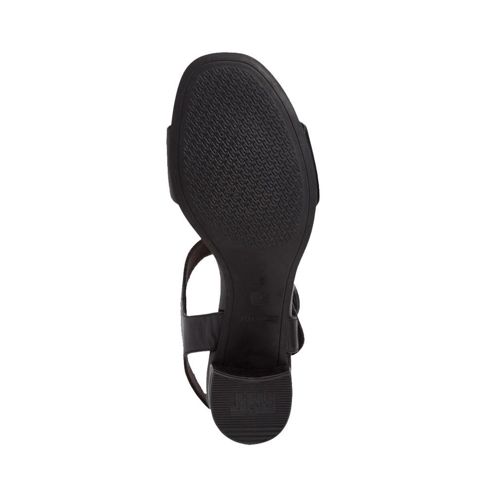 Tamaris Desie Sandal Black Leather