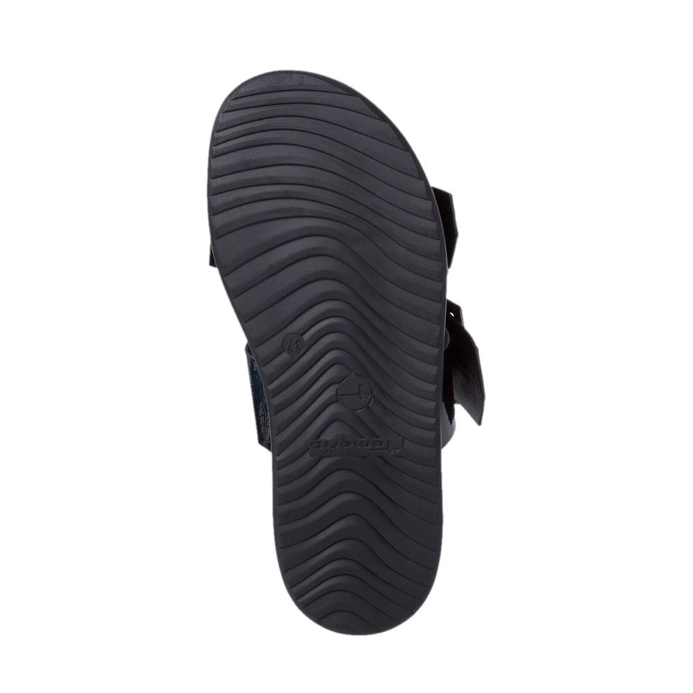 Tamaris Cordina Sandal Black Patent
