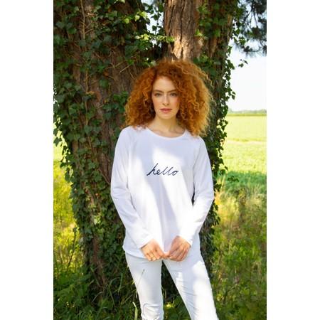 Chalk Tasha Hello Top - White