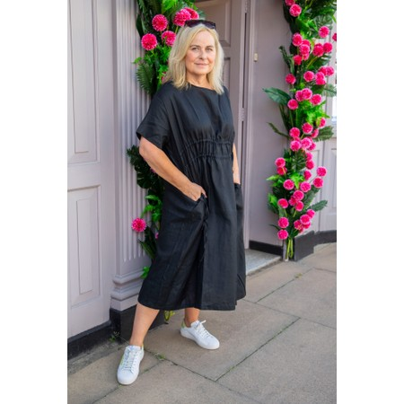 Tirelli Double Drawcord Dress - Black