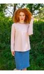 Chalk Pink / White  Tasha Hello Top