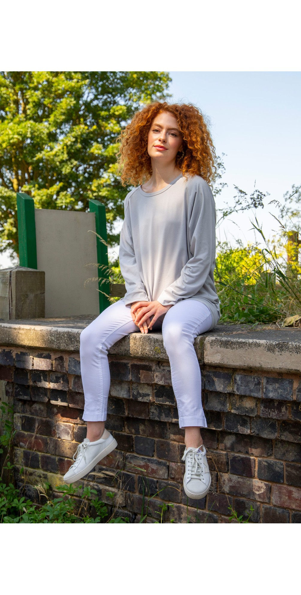 Robyn Plain Jersey Top main image