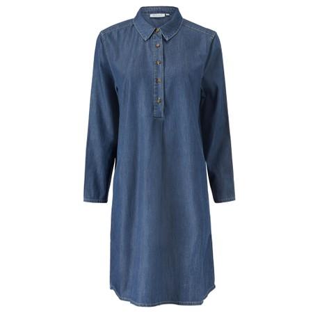 Masai Clothing Nalfa Denim Tunic - Blue